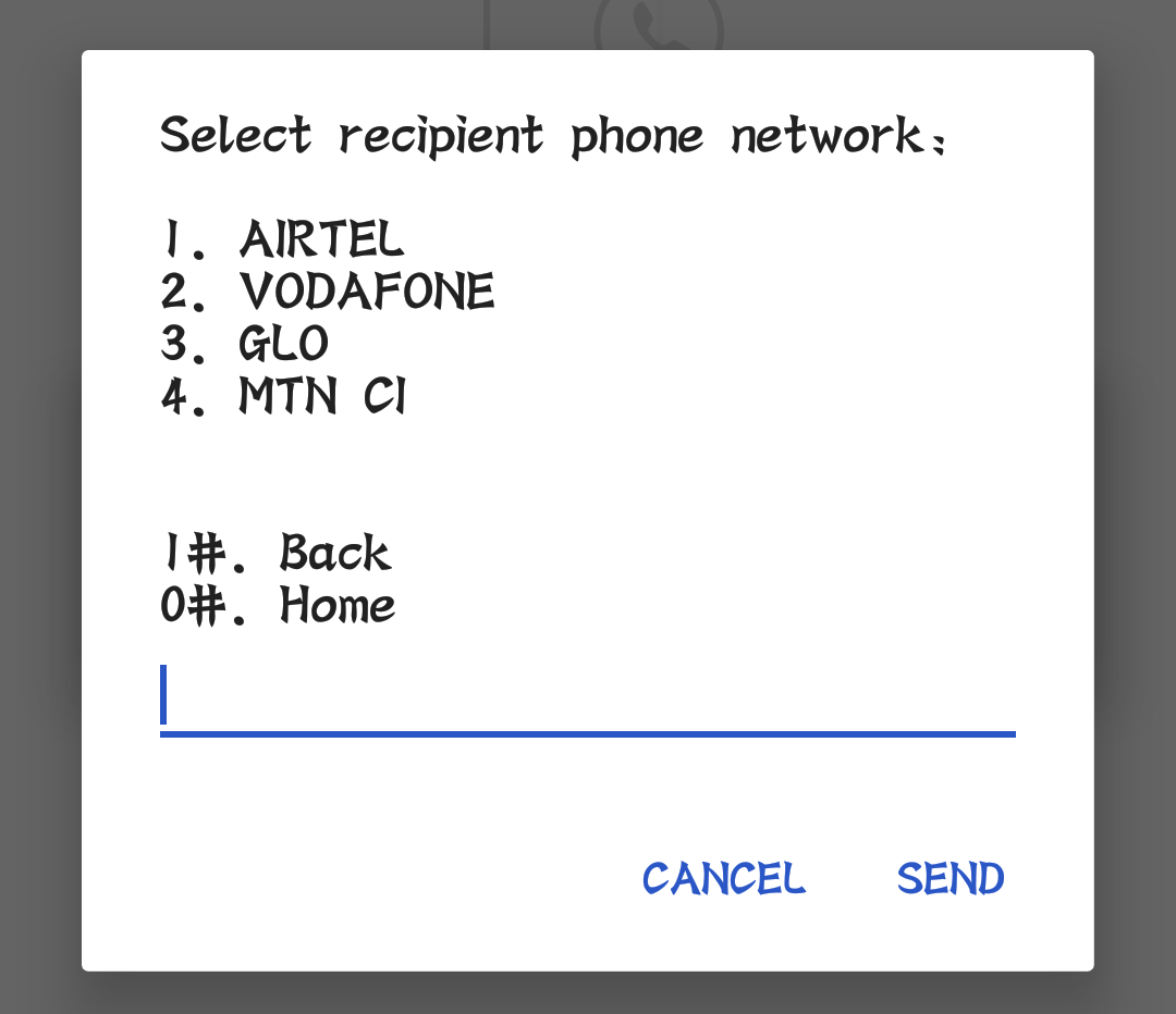 Buy Airtime To Any Network Step 5