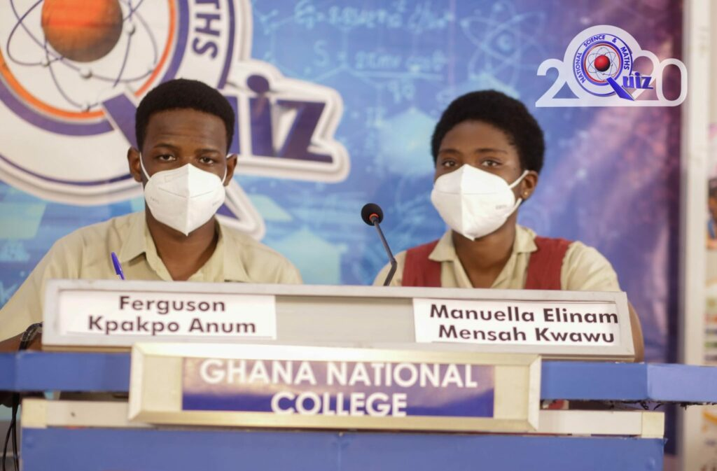 The team from Ghana National College