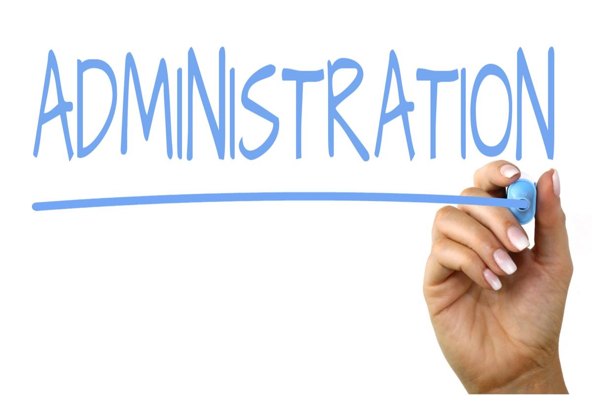 Administration; Mustapha Ussif Vacates Office