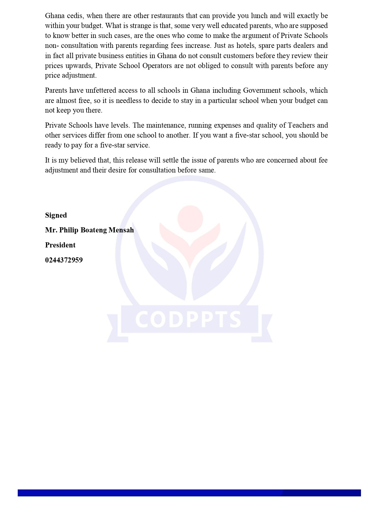 Press Release - Page 2