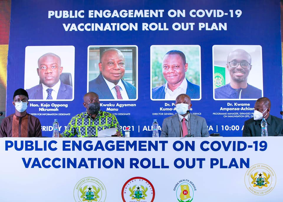 Ministry Of Information COVID-19 Vaccine Deployment Meeting
