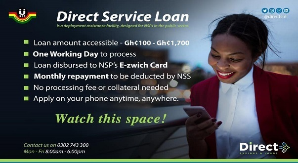 NSS Direct Loan How To Apply