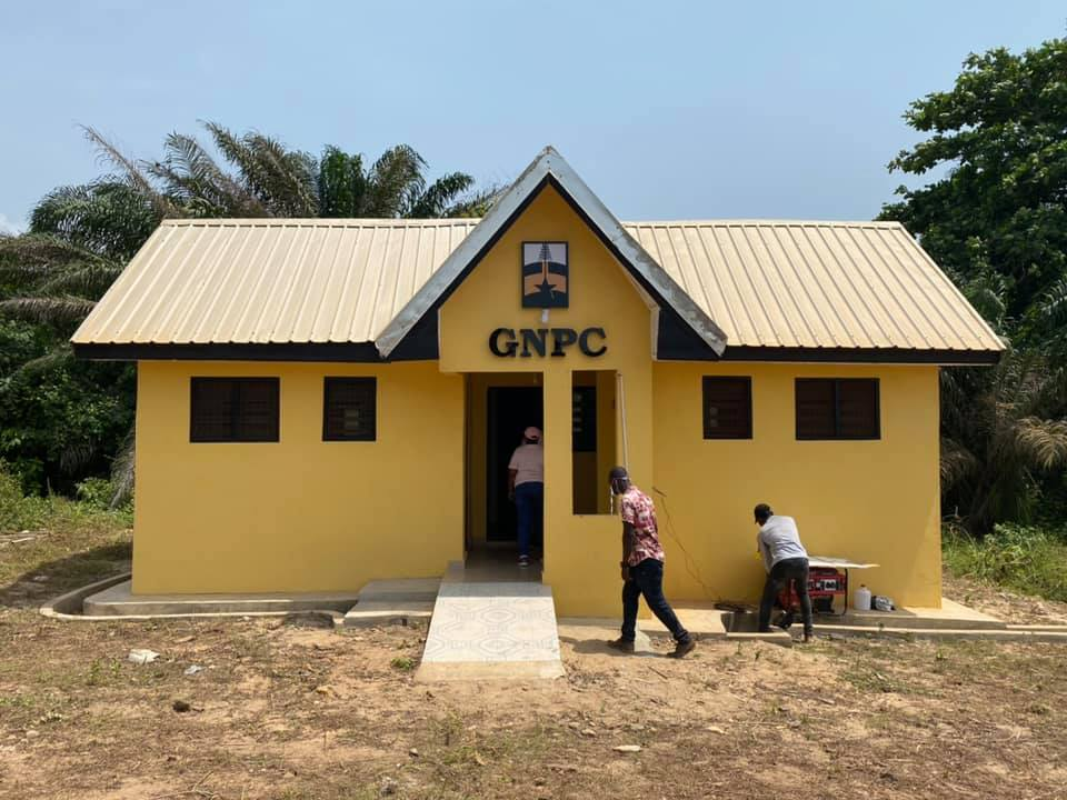 Nzema East Modern Toilet Facilities Building Completed