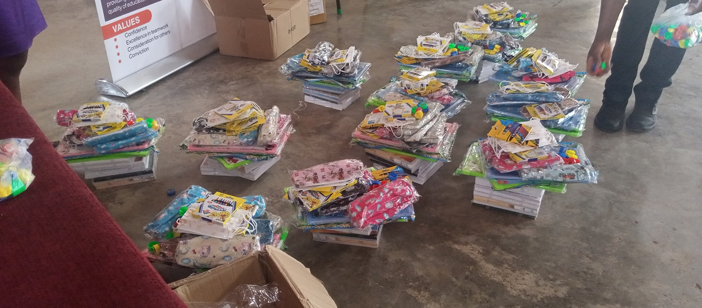 Peki Private School Receives Reading Materials From GNACOps